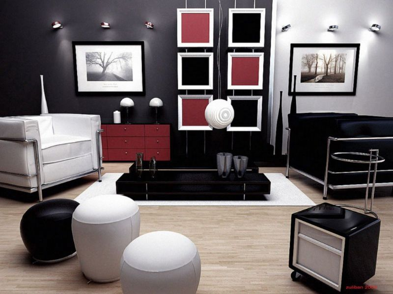 creative-innovative-black-and-white-living-room-decorating-design
